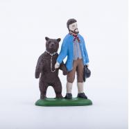 Medvědář s medvědem